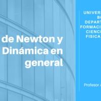 Nociones elementales de leyes de Newton
