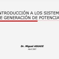 Sistemas de Generación Termoeléctricos
